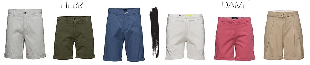Chino shorts til mænd og kvinder