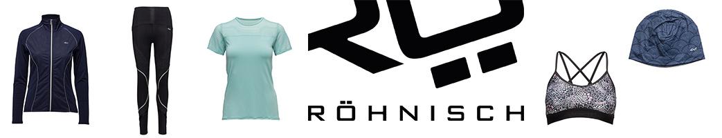 Röhnisch logo og træningstøj til kvinder