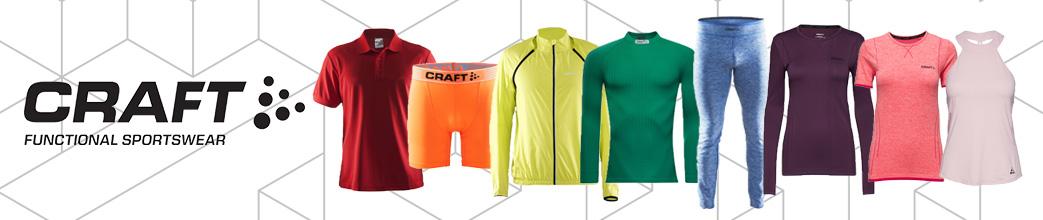 Craft træningstøj i forskellige farver