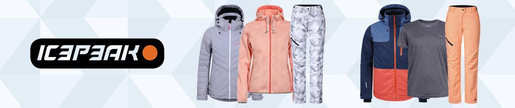 Icepeak tøj og overtøj til mænd og kvinder