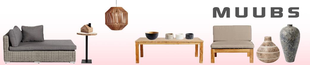 Møbler og boligtilbehør fra Muubs