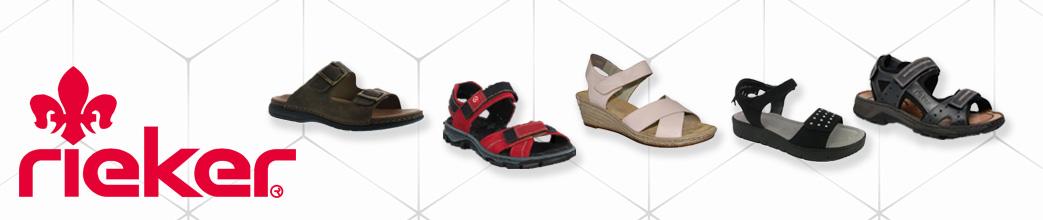 Rieker sandaler til kvinder og mænd