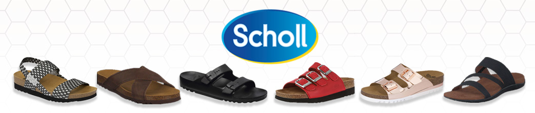 Scholl sandaler i forskellige farver og til kvinder og mænd