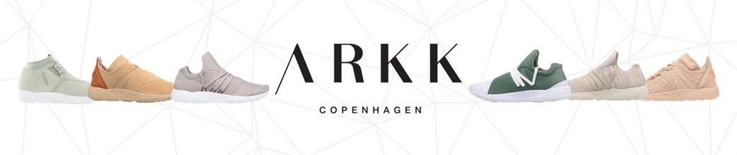 ARKK Copenhagen sko i pastelfarver