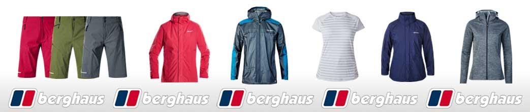 Outdoor tøj til mænd og kvinder fra Berghaus