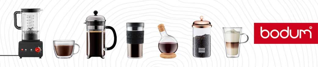Bodum udstyr til kaffe og andre varme drikke