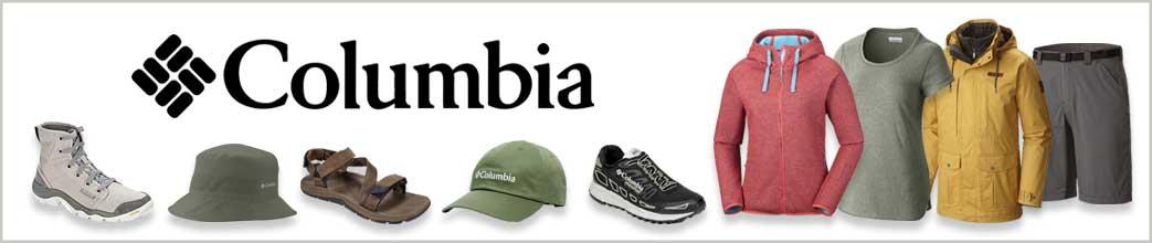 Tøj, sko og tilbehør fra Columbia