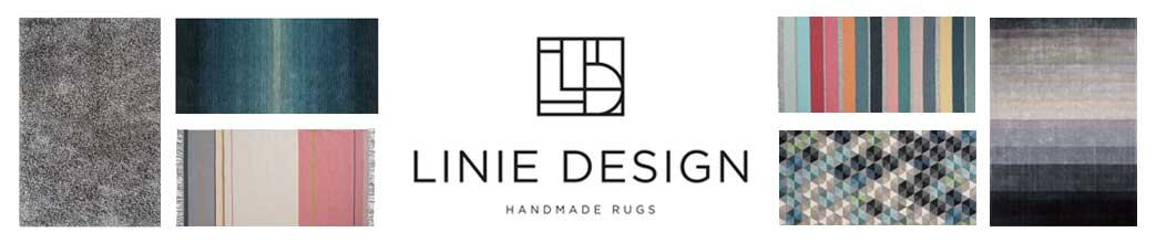 Linie Design tæpper i forskellige farver