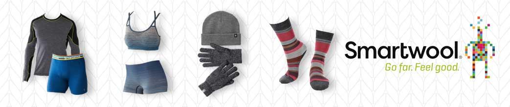 Tøj og accessories fra Smartwool