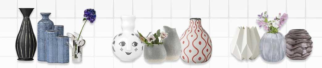 Vaser til hjemmet i forskellige designs