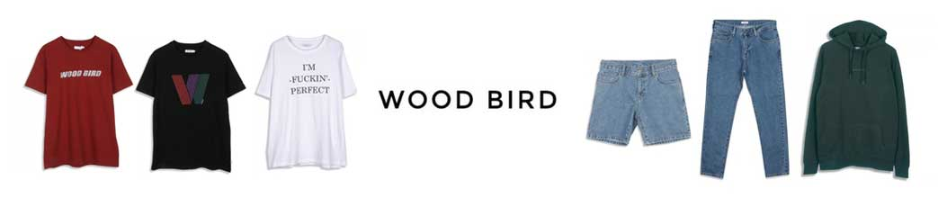 Tøj til mænd fra Woodbird