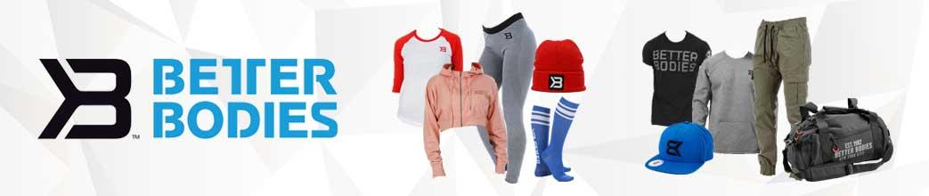 Sporty tøj og tilbehør fra Better Bodies