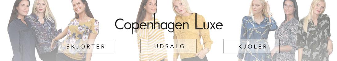 Kvinder i tøj fra Copenhagen Luxe