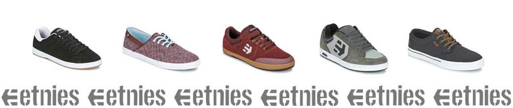 Etnies sneakers i forskellige farver