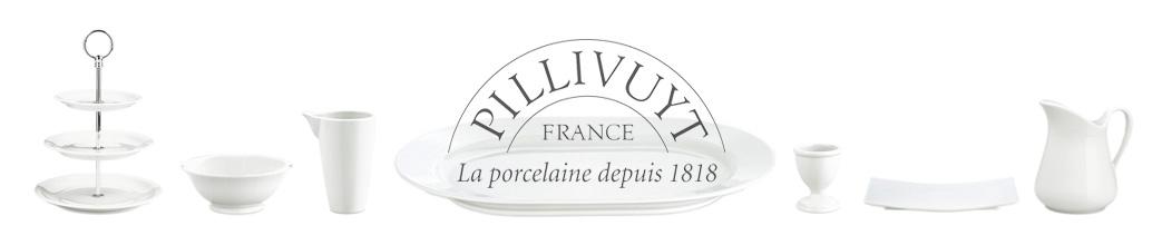 Hvidt porcelæn fra Pillivuyt
