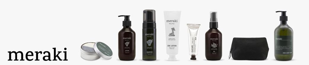 Sæbe, shampoo, mm. fra Meraki