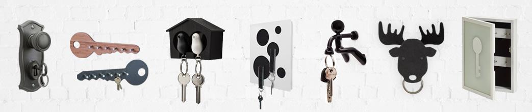 Nøgleholdere og nøgleskabe i sjove og trendy designs