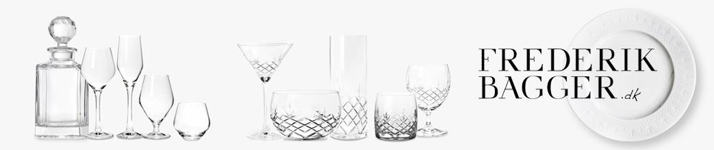 Glas og service fra Frederik Bagger