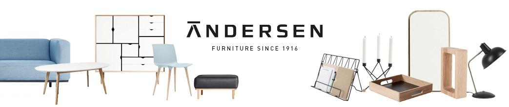 Møbler og interiør fra Andersen Furniture i skandinavisk stil