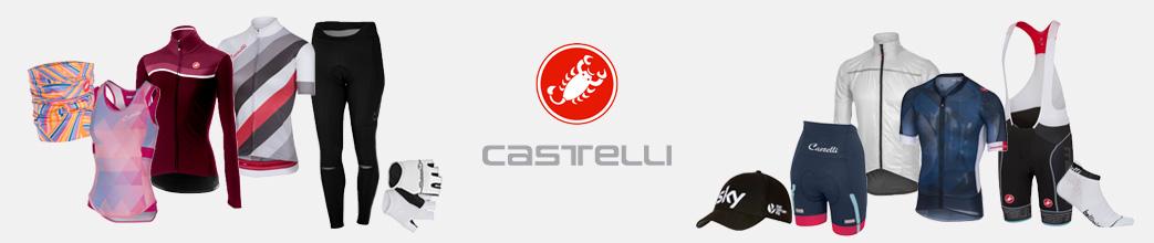 Sportstøj til herre og dame fra Castelli