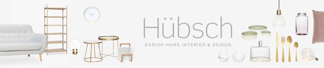 Sofa, reol, skamler og service fra Hübsch