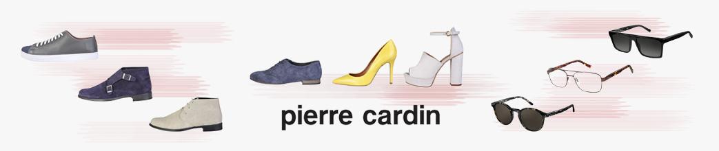 Sko, bl.a. ruskind, og solbriller fra Pierre Cardin