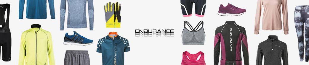 Sportstøj til herre og dame fra Endurance.