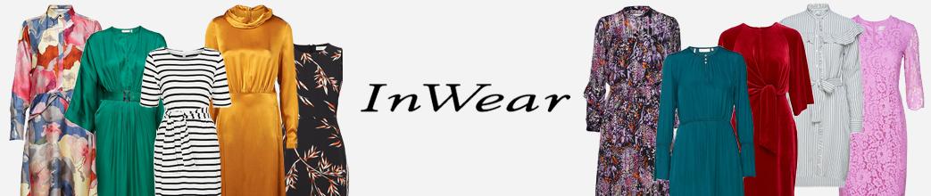 InWear kjoler i forskellige farver og med mønster