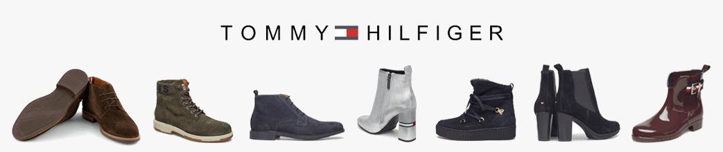 Tommy Hilfiger støvler til herre og dame.