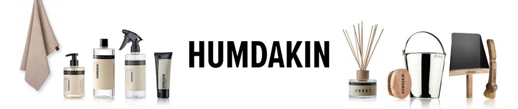 Sæbe, viskestykke, duftpinde og andre produkter fra Humdakin