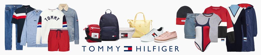 Tommy Hilfiger tøj, sko og tasker til dreng, pige, mand og dame