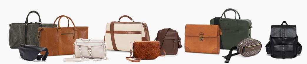 Lækre lædertasker til herre og dame. Skuldertasker, weekendtasker og rygsæk. Store og små.