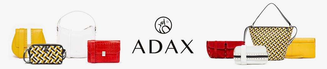 Adax tasker til hverdag og fest. Store og små, skuldertasker og cluthes.
