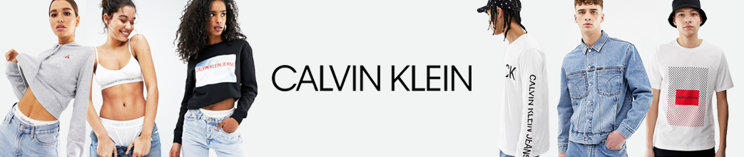 Tøj fra Calvin Klein til herre og dame.