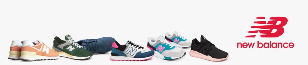 Fede New Balance sneakers til damer og herrer. Mange farver og størrelser på udsalg.