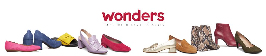 Fine Wonders sko. Stiletter, wedges og ballerinaer i e.g. pink, blå, rød og snake.