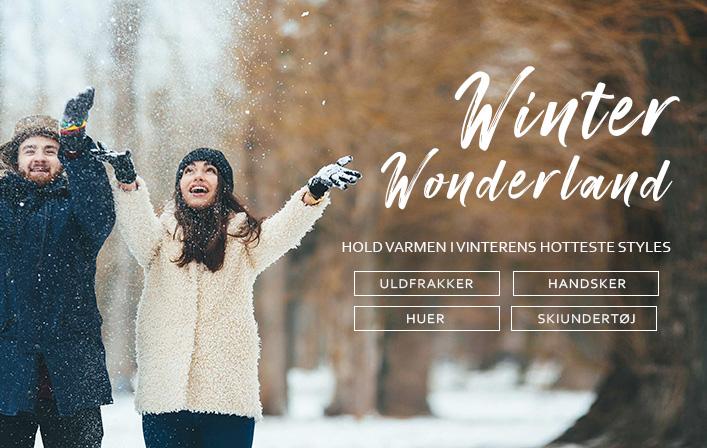 Hold varmen i vinterens hotteste styles til herre og dame