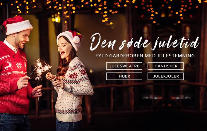 Fyld garderoben med julestemning - fashion til herre og dame