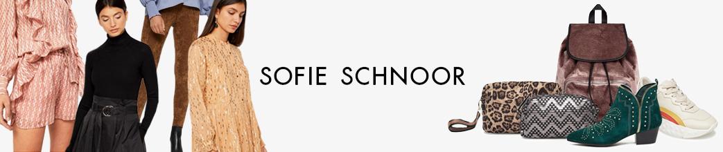 Sofie Schnoor tøj, sko og tasker. Mange farver og design. Gode priser og tilbud.