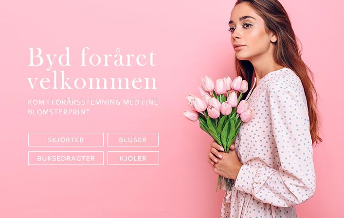 Byd foråret velkommen med fine styles i blomsterprint