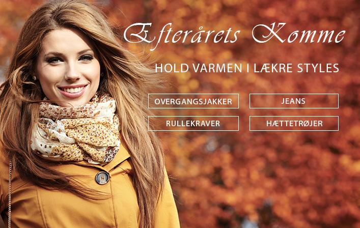 Bliv klar til efteråret med de lækreste styles til herre og dame