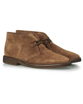 Drake's Clifford Suede Desert Boots Light Brown