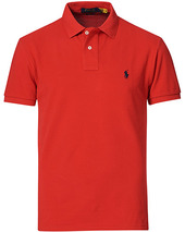 Polo Ralph Lauren Slim Fit Polo Red