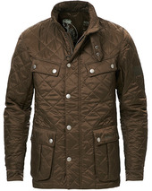 Barbour International Ariel Quilted Jacket Olive