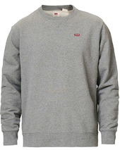 Levi's Original Crew Neck Sweatshirt Chisel Grey Heather