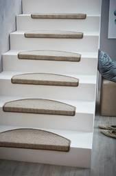 Escalier Trappetrinsmåtte 10-pak Offwhite