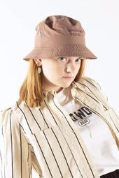 Gp Logo Bucket Hat (soft) - Dusty Pink - Garment Project - Pink One Size