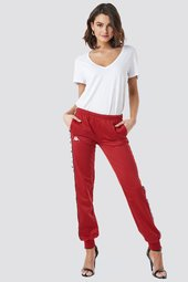 Kappa Wrastoria Banda Pants - Red