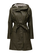 Raincoat Outerwear Rainwear Rain Coats Grøn Ilse Jacobsen