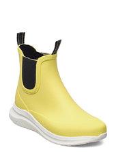 Short Rubber Boots Gummistøvler Sko Gul Ilse Jacobsen